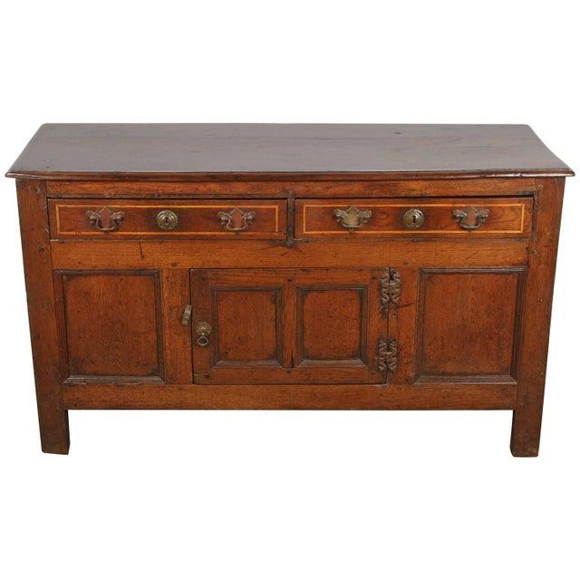 19th Century English Oak Sideboard - Image 1 of 10