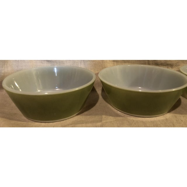 Federal Avocado Green Cereal Bowls - Set of 4 For Sale In Philadelphia - Image 6 of 8