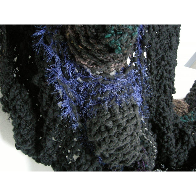 Bespoke Crocheted Couch Cloak x paulaschubatis YEAR: 2017 MADE IN: Detroit, MI Couch Cloaks from paulaschubatis are one-...
