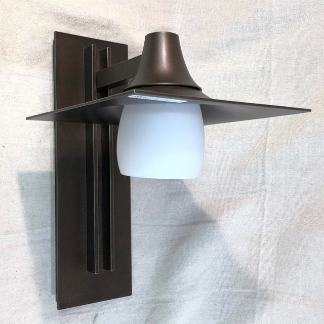 Hubbardton Forge Hood Outdoor Wall Sconce For Sale - Image 4 of 10