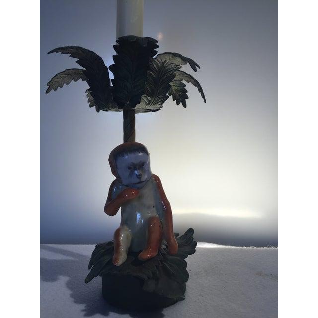 Palm Monkey Candle Holder - Image 3 of 3