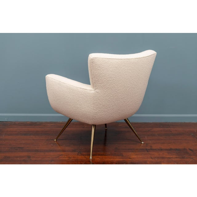 Mid-Century Modern Lounge Chair by Henry Glass For Sale In San Francisco - Image 6 of 9
