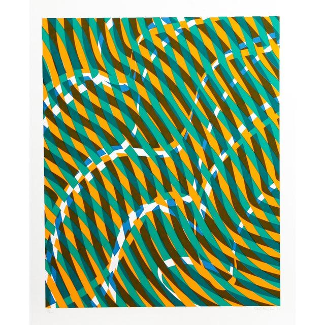 Stanley Hayter, Untitled 1, Silkscreen - Image 1 of 2