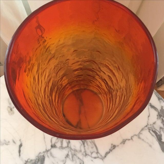 Empoli Glass Vase - Image 5 of 7