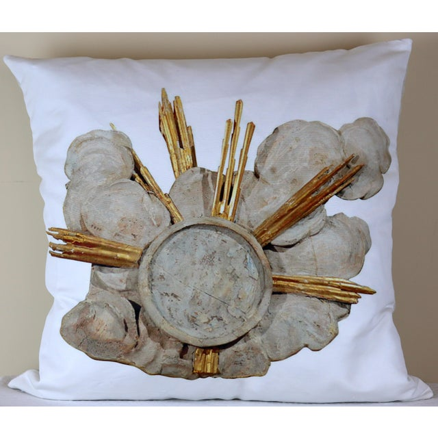 French Cathedral Altar Fragment Photo Pillow For Sale - Image 13 of 13