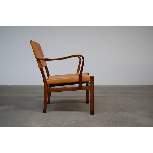 Nordiska Kompaniet Lounge Chair Designed by Axel Einar Hjorth For Sale - Image 4 of 7
