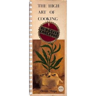 The High Art of Cooking: New Grass Cookbook For Sale