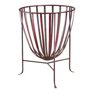 Large metal fire pit, Germany, 1950s For Sale