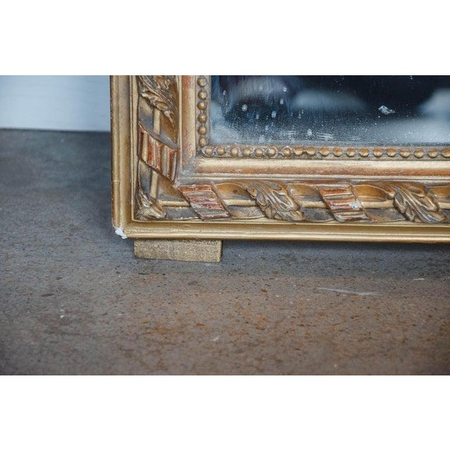 19th Century 19th Century French Gold Louis Philippe Mirror For Sale - Image 5 of 10