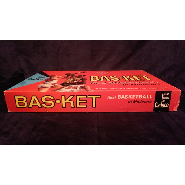 1966 Cadaco Bas-Ket Basketball Board Game - Image 5 of 11