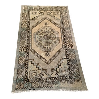 1960s Vintage Turkish Style Rug - 3′7″ × 6′2″ For Sale