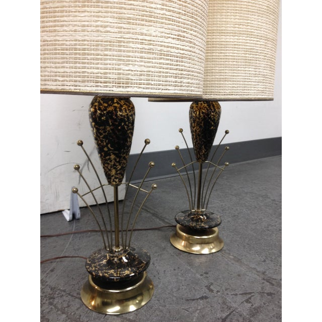 Art Deco Lamps - A Pair - Image 7 of 7
