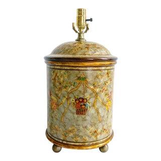 Vintage Round Monkey Lamp