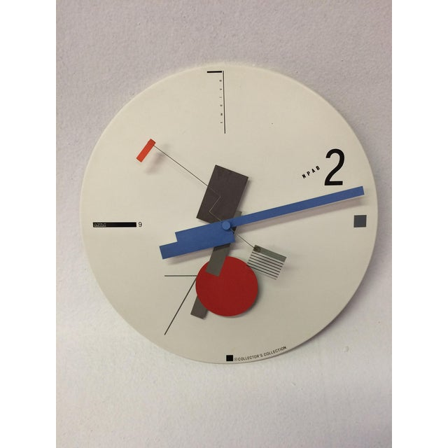 Constructivist Clock by Artek - Image 2 of 5