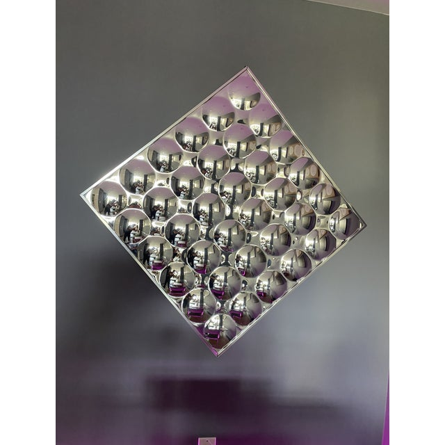 Mid 20th Century Turner Glass Company Bubble Mirror For Sale In Los Angeles - Image 6 of 6