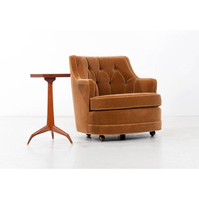Edward Wormley Lounge Chair dor Dunbar For Sale In Los Angeles - Image 6 of 9