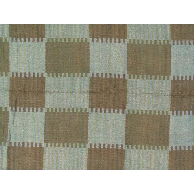 "Pasargad Scandinavian Design New Zealand Overdyed Wool Rug - 7′7"" × 9′1"" For Sale - Image 4 of 6"