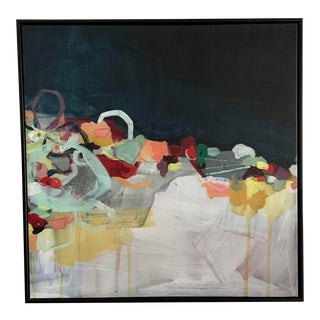 Contemporary Abstract Painting, Framed For Sale