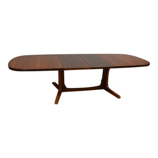 Niels O. Moller Rosewood Danish Extendable Dining Table For Sale