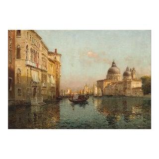Vue Du Grand Canal Vers La Salute, Venise by Antoine Bouvard