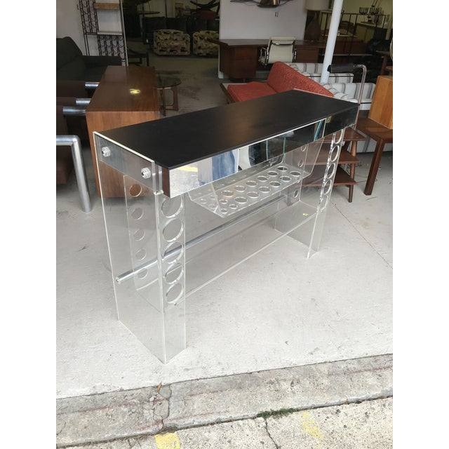 Lucite Ghost Bar Hill Manufacturing For Sale - Image 10 of 10