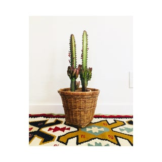 Vintage Large Woven Plant Basket Preview