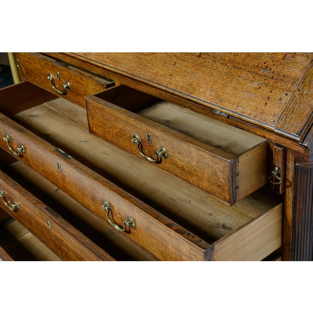 Mid 19th Century Slant front desk For Sale - Image 5 of 10