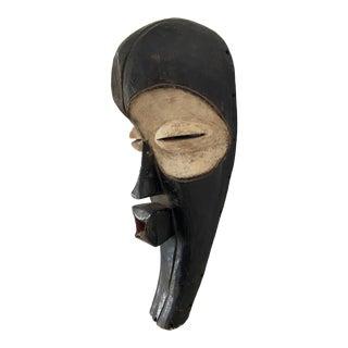 "Lg Fang Mask Elongated Face Gabon African Mask 23.5"" H For Sale"