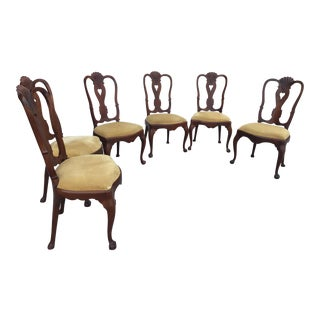 18th Century Dutch Side Chairs - Set of Six- Price Reduced! For Sale
