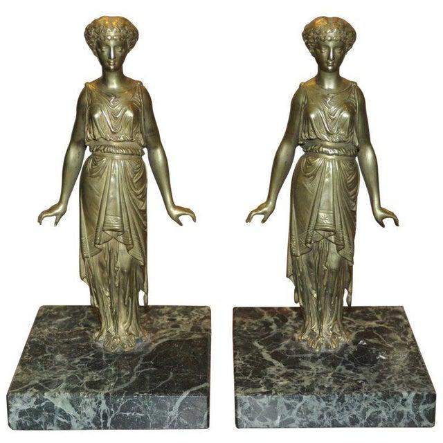 Pair of Vintage Bronze Ladies - Image 2 of 5