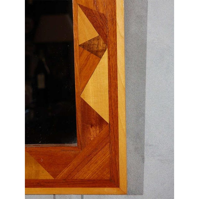Folk Art Wall Mirror For Sale - Image 5 of 5