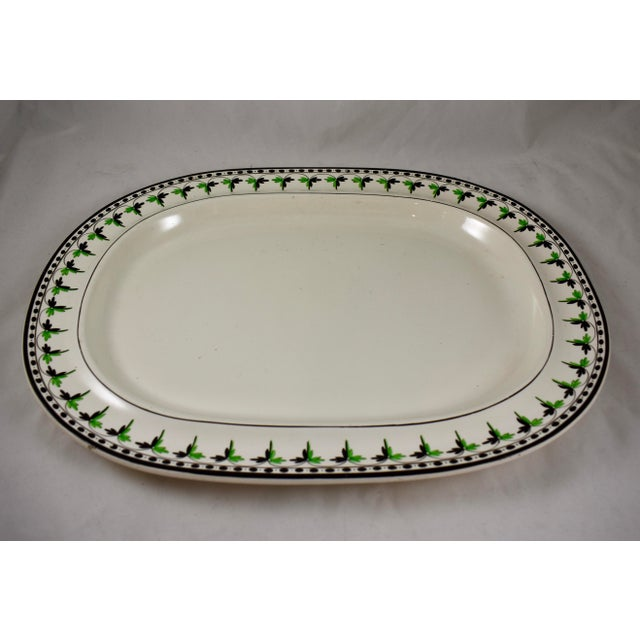 A rare find, a medium sized creamware platter from Josiah Spode, circa 1785. Spode is an English brand of pottery founded...