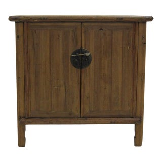 Natural Wood Provincial Cedar Cabinet For Sale