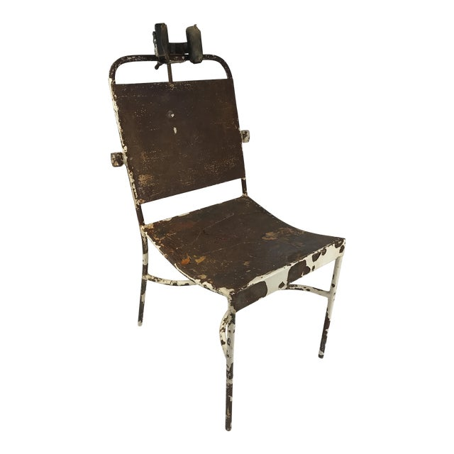 Antique Medical Exam Chair For Sale