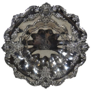 Sterling Bowl, by Bamberger and Gaines For Sale