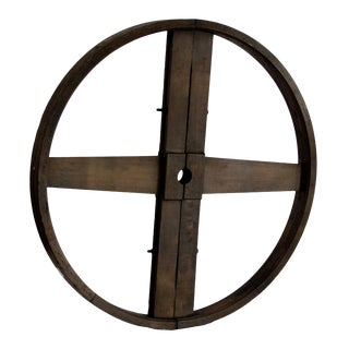 Industrial Wooden Wheel For Sale