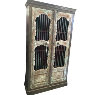 Antique Anglo Indian Bookcase