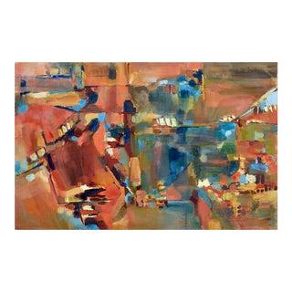 'Berkeley towards San Francisco' Original Painting by Brockman For Sale