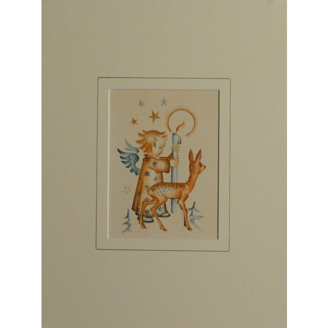 Hummel Christmas Prints - Pair - Image 3 of 5