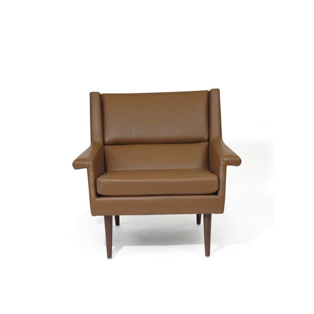 Brown Milo Baughman Lounge Chair For Sale - Image 8 of 10