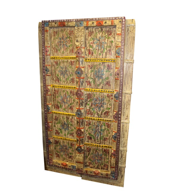 Unique Masterpiece of Handmade Vintage floral Door Discover an amazing great Indian work of art designed out of great...