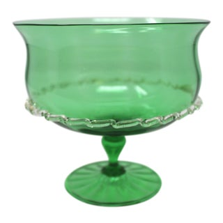 Vintage Murano Glass Candy Bowl For Sale