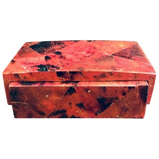 Exotic Desk Box in Mosaic Pen-Shell by R & Y Augousti For Sale