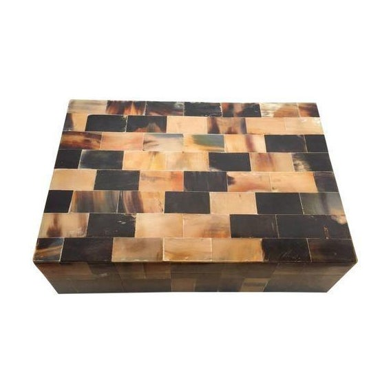 Large Multicolor Horn Box - Image 1 of 6