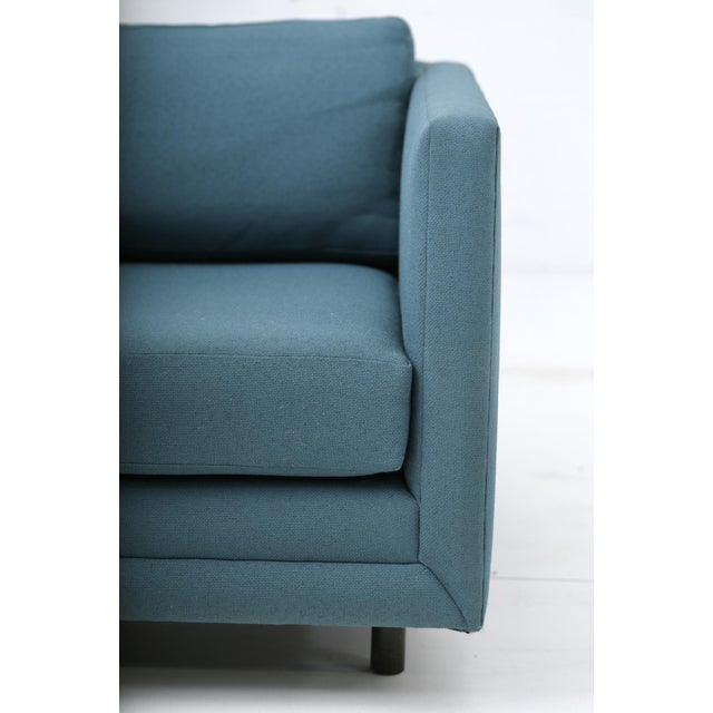 Harvey Probber Tuxedo Lounge Chair For Sale - Image 9 of 11