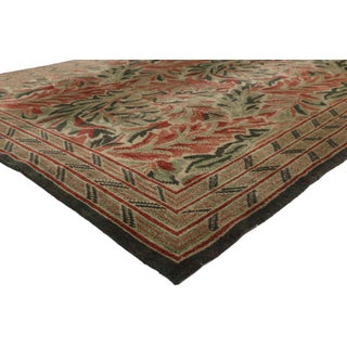 Vintage Swedish William Morris Acanthus Inspired Rug - 5'11 X 8'6 Preview