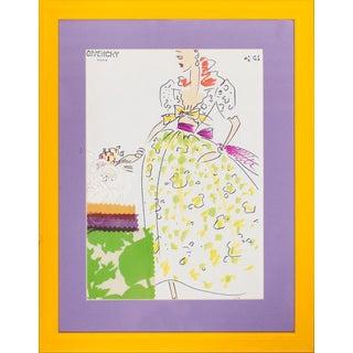 """Givenchy Glam"" Fashion Illustration For Sale"