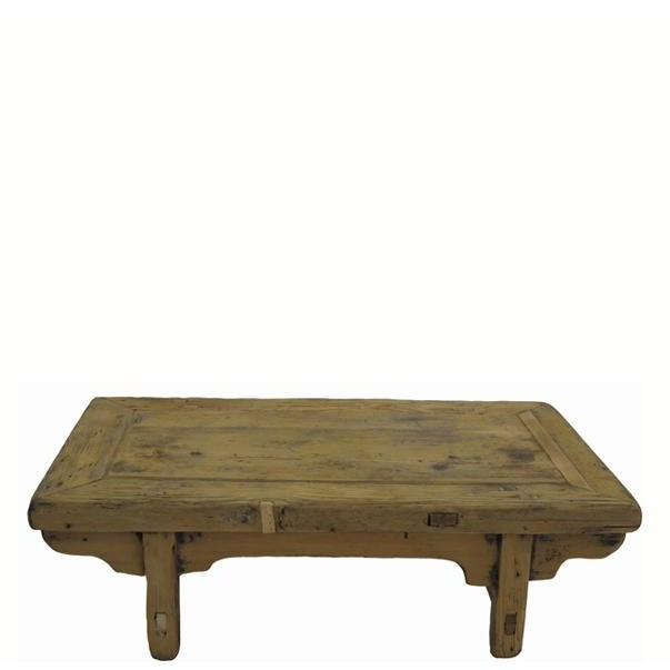 Small Rustic Kang Accent Table or Coffee Table For Sale In Boston - Image 6 of 6