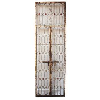 Vintage Indian Iron Garden Gate For Sale