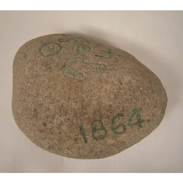 Carved Granite Rock Souvenir from the USS Kearsarge, 1864 - Image 2 of 8